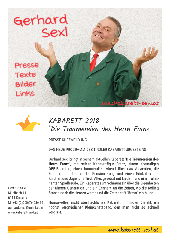 Pressetexte Download